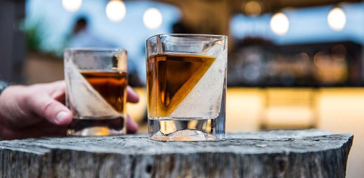 Whiskey Wedge Pair