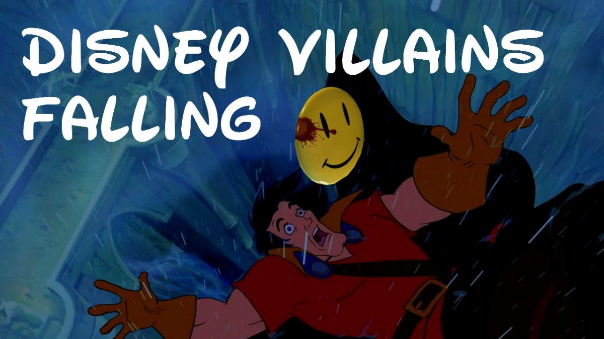 Disney Villains Falling