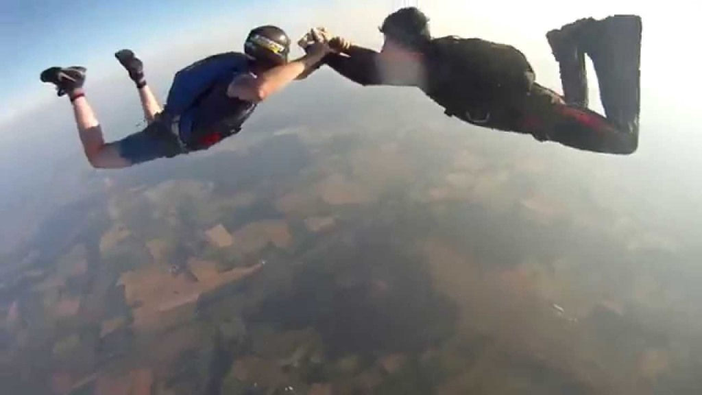 A Lost GoPro Captures a Rapid Descent After Falling Off a Skydiver 10,000 Feet in the Air