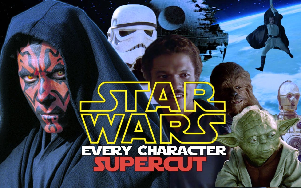 a supercut of every character fr