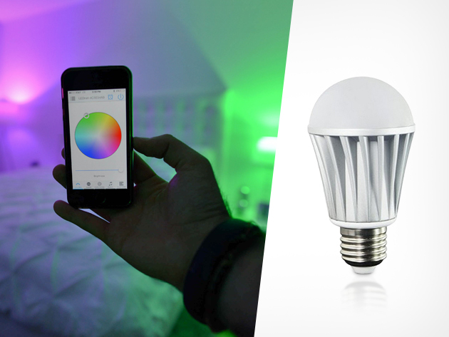 SMFX Smart Bulb, A Long-Lasting Smartphone Controlled Light Bulb With Millions of Color Options