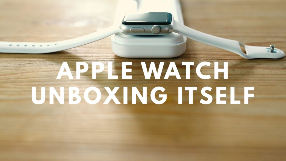 Ručně animovaný unboxing Apple Watch (Video)