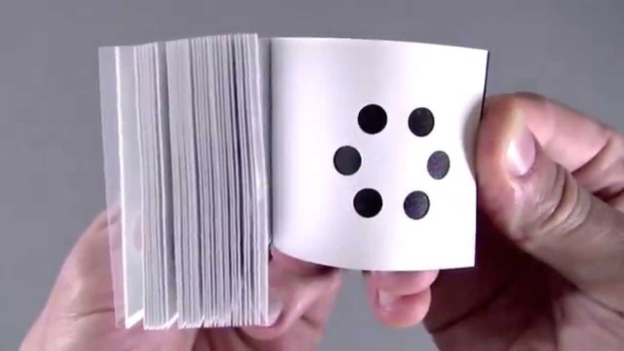 Artist Scott Blake Creates Clever Flip Books With a Hole Punch and Other Inventive Techniques