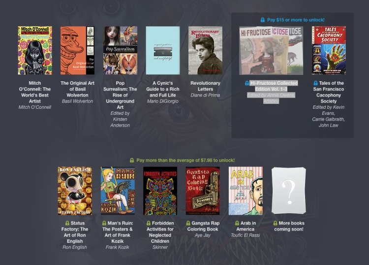 Humble Underground Book Bundle by Last Gasp