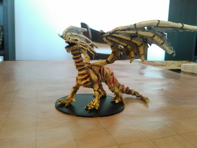 A Series Of 3d Printed Dungeons Amp Dragons Monster Miniatures
