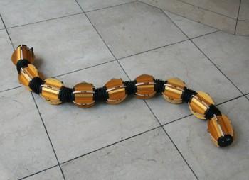 Slithering Underwater Snake Robot