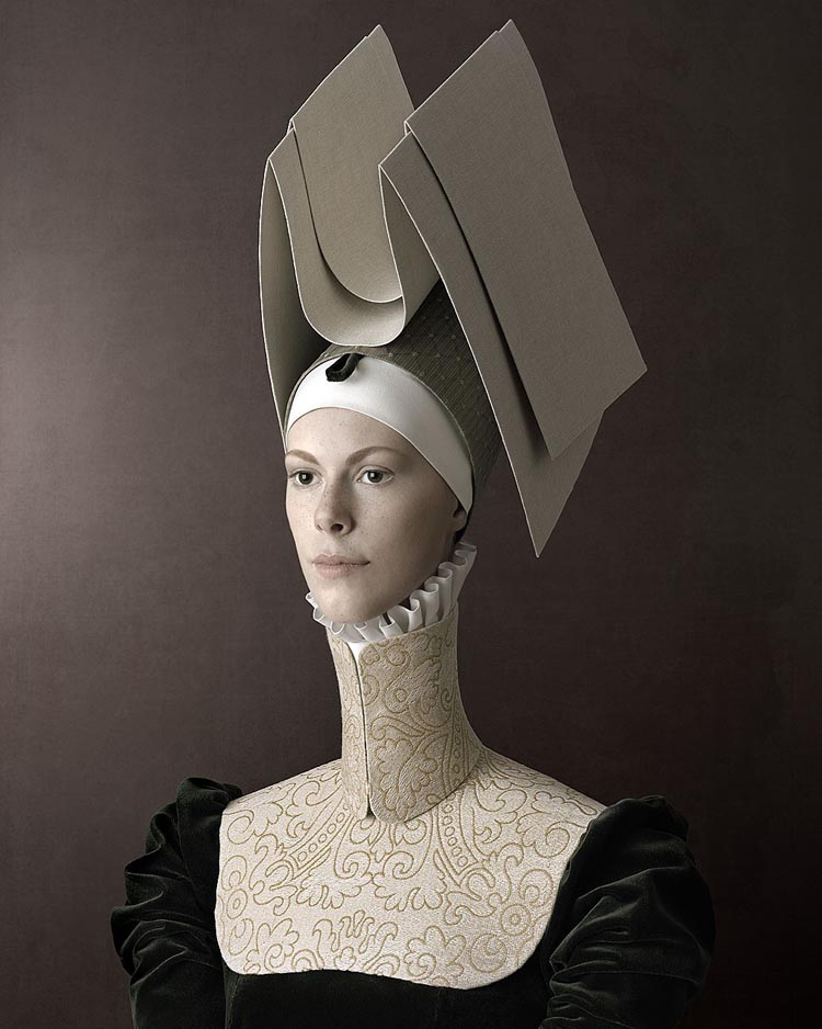Delightfully Unsettling Portrait Photos Inspired by Renaissance Portraiture