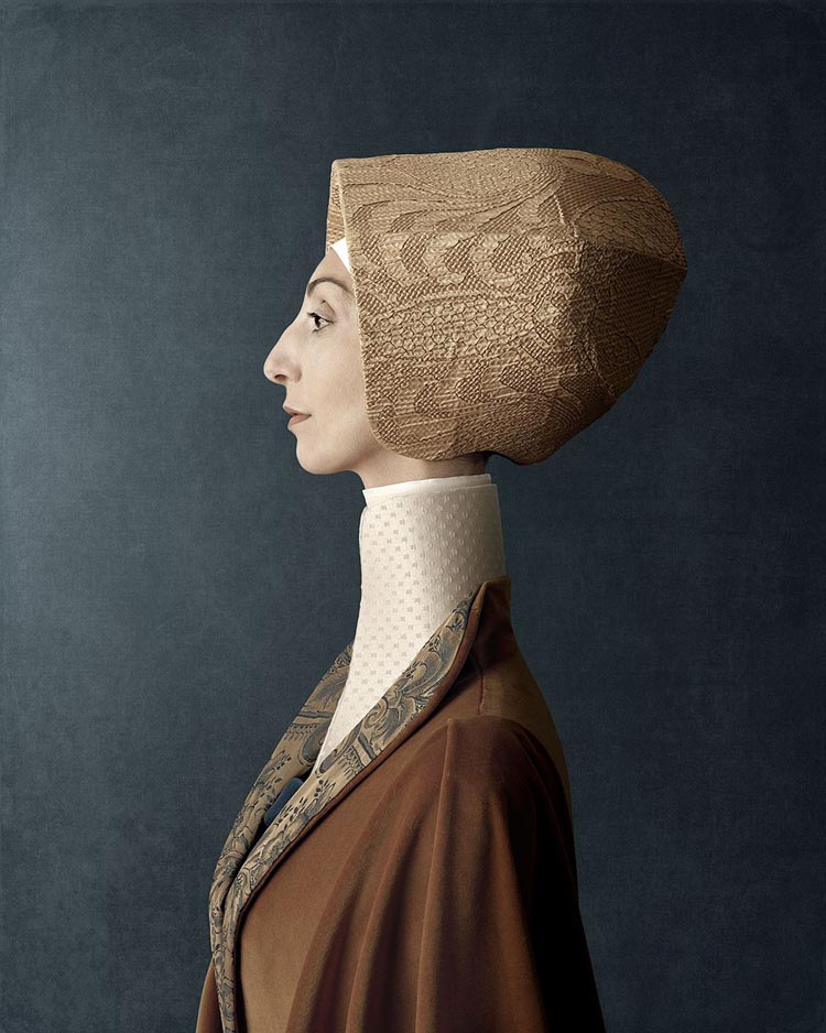 Creepy Renaissance Portraits by Christian Tagliavini