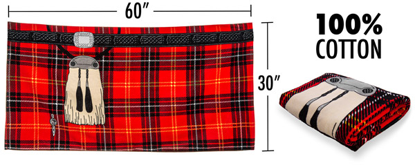 The Kilt Towel