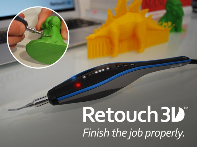 Retouch3D, A Heated Tool Designed Specifically For Retouching 3D-Printed Objects