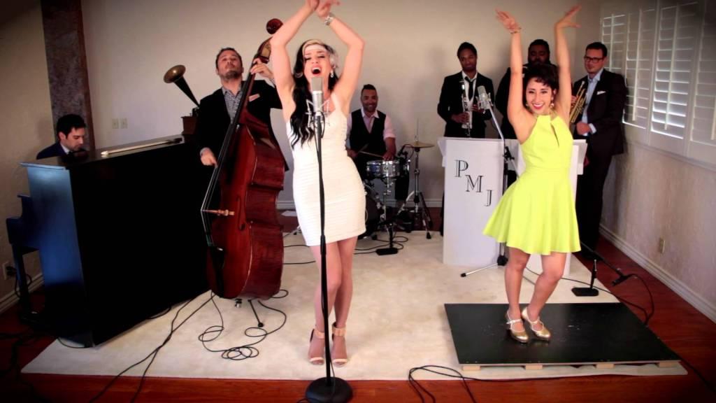 Postmodern Jukebox Ariana Savalas And Tap Dancer Sarah