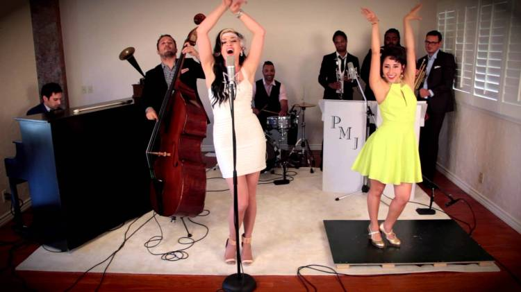 Postmodern Jukebox Ariana Savalas And Tap Dancer Sarah