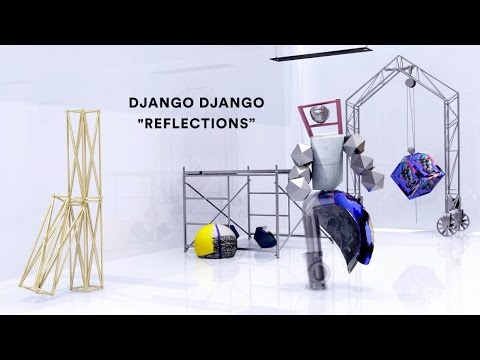 Rock Group Django Django Transforms Into Bizarre Dancing Sculptures in Motion-Capture Music Video for 'Reflections'