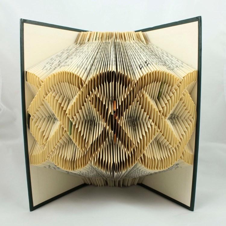 Celtic knot folded book