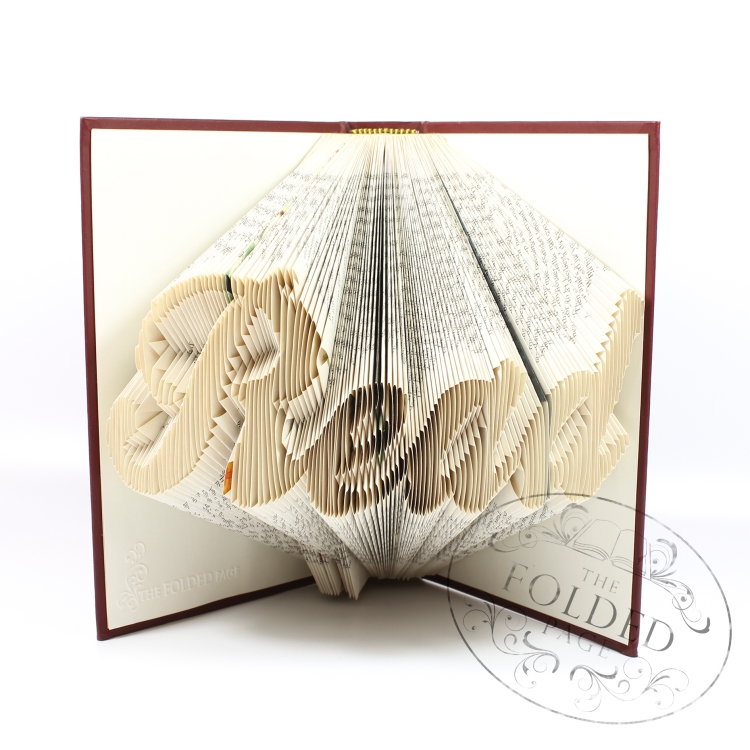 Read folded book