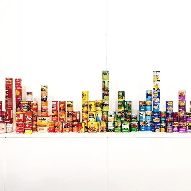 Canned food gradient