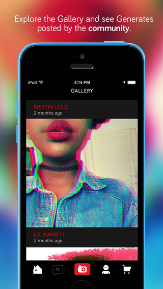Generate Audio Visual Art App