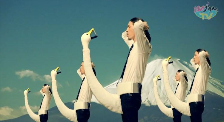 Swan Smartphone Holder Ad