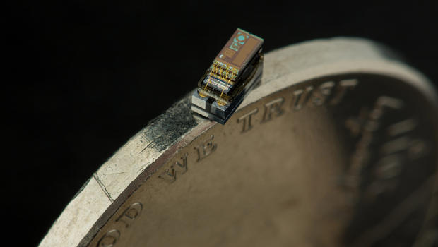 M^3, A Tiny Autonomous Computer That Is About the Size of a Grain of Rice