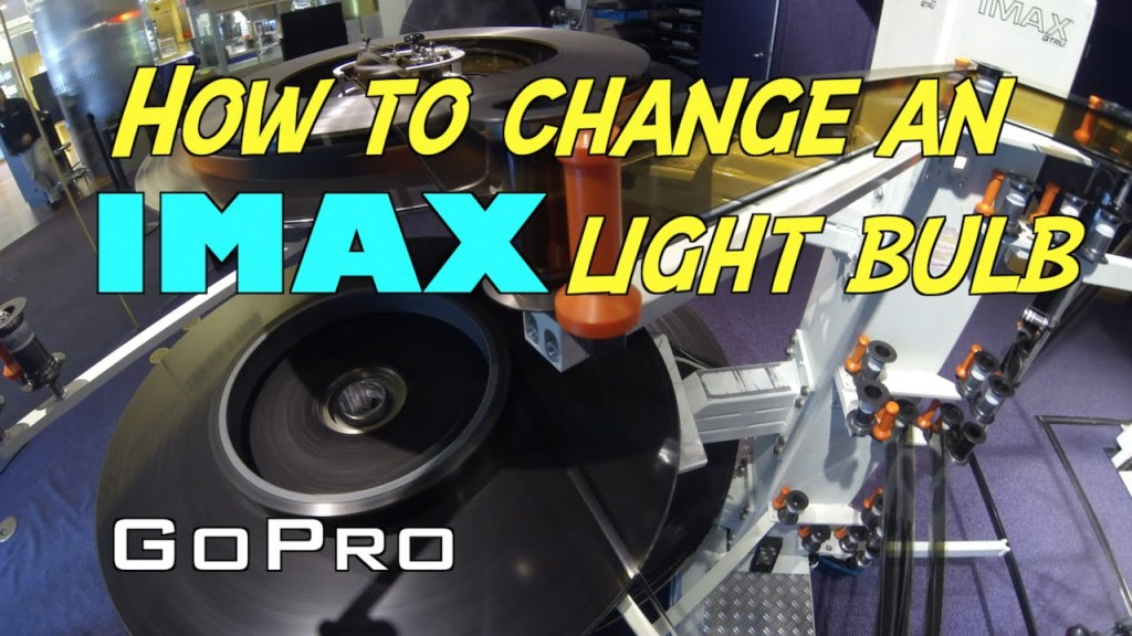 The Surprisingly Complex Process of Changing an IMAX Projector Light Bulb