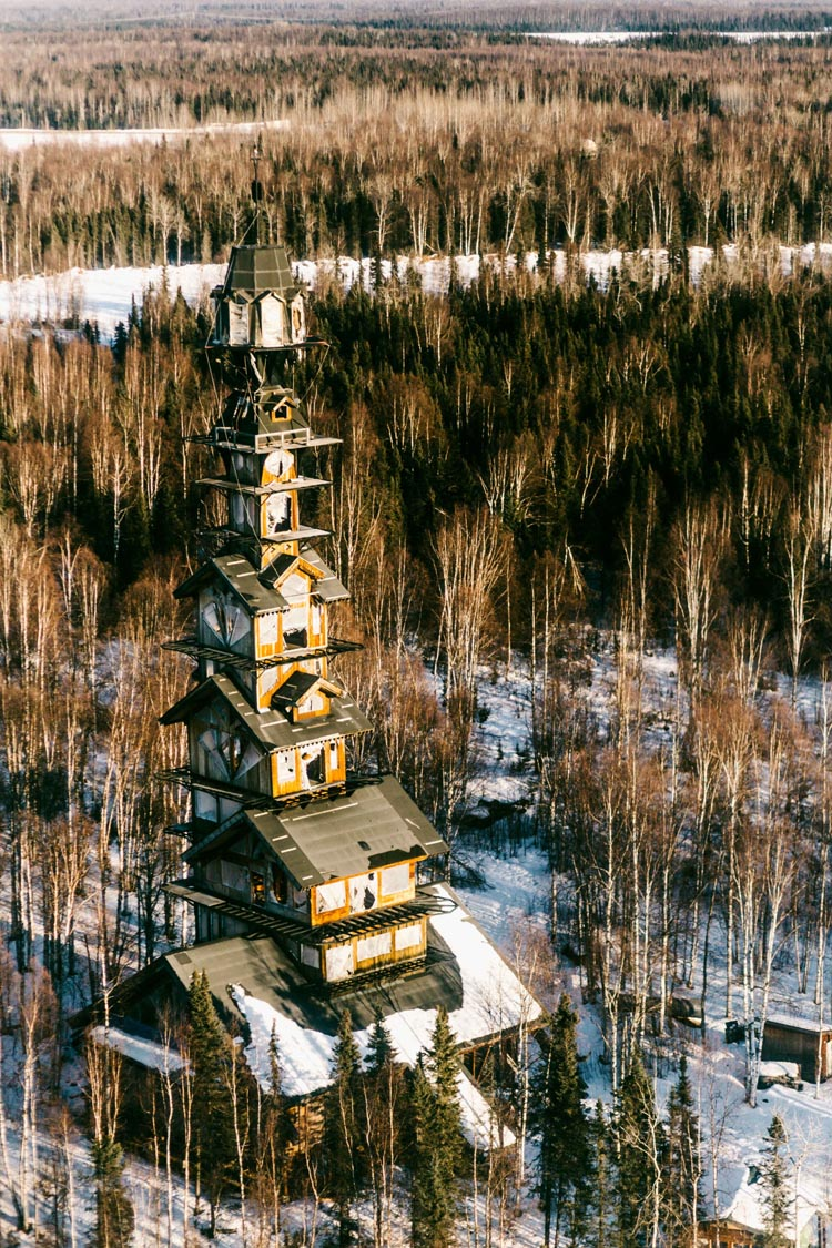 Dr. Seuss House in Alaska