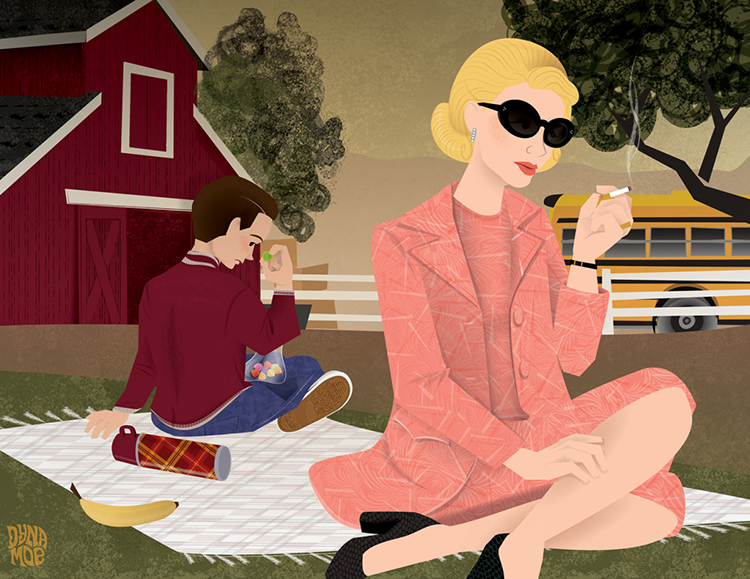 Mad Men Illustrated: Season 7 So Far