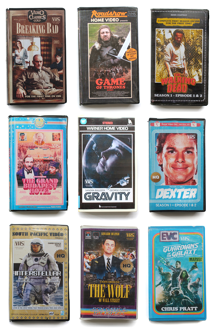 Stan VHS, A Tumblr Blog Featuring 1980s-Style VHS Cover Art for Modern Television Shows and Movies