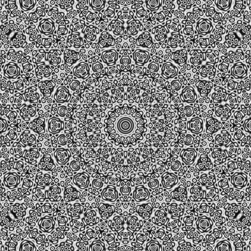 A Hypnotic Animation of a Quasicrystal That Reveals Hidden Patterns When the Viewer Blinks