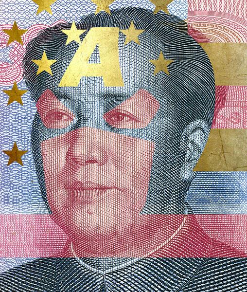 Captain America - Mao Zedong