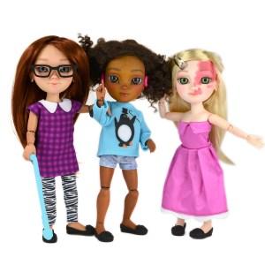 three makies dolls