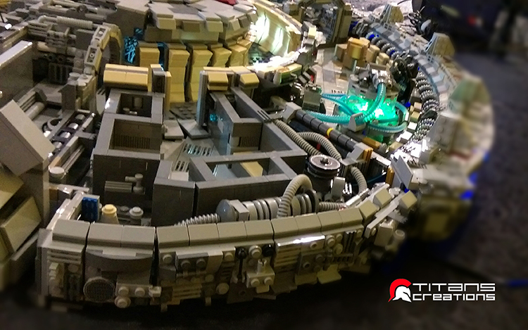 LEGO Millennium Falcon by Titans Creations