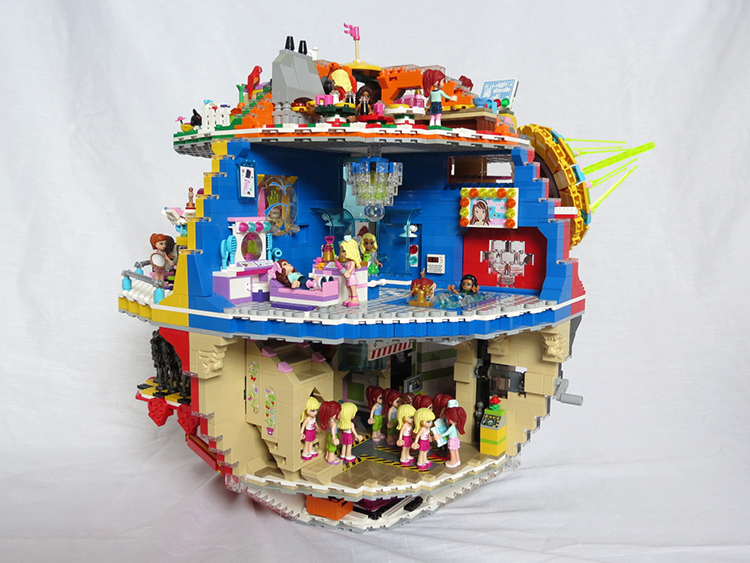 Friends LEGO Death Star
