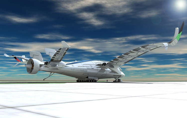 Solar-Powered Airliner Concept