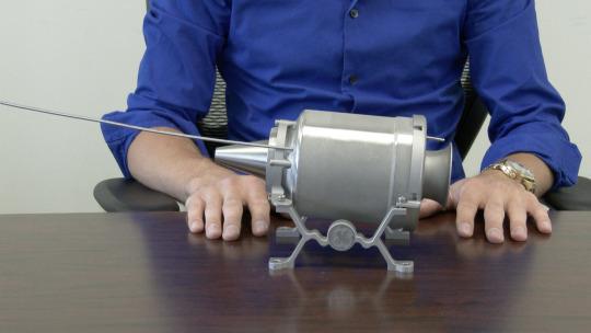 3D-Printed Jet Engine
