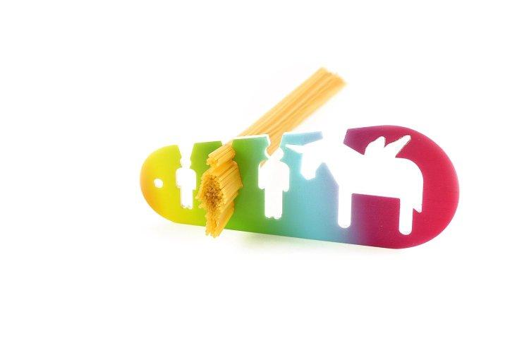 Unicorn spaghetti measuring tool