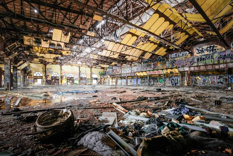 'Abandoned NYC', Photos of New York City's Abandoned Spaces by Photographer Will Ellis
