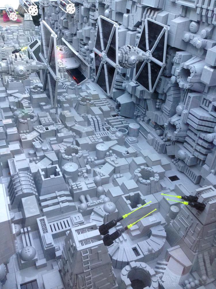 LEGO Star Wars Death Star at Legoland