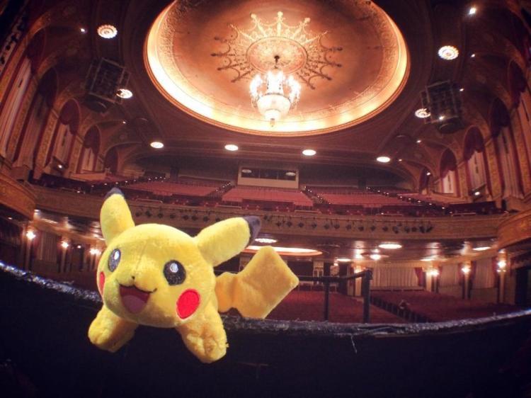 Pikachu at symphony