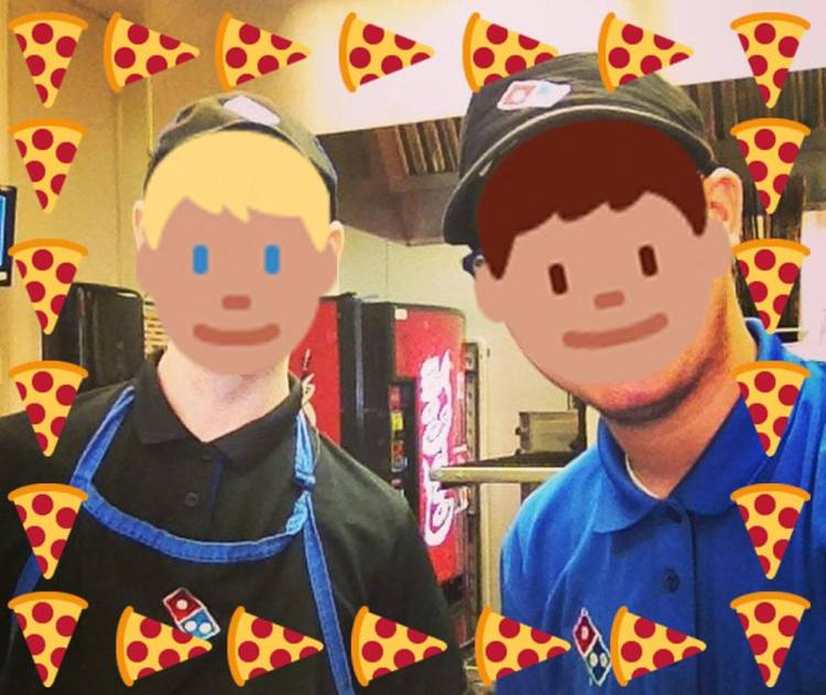 Dominos Pizza Emoji
