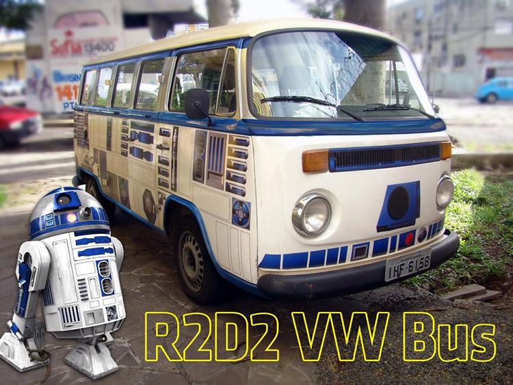 R2-D2 Volkswagen Bus