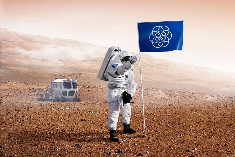 Flag of the Planet Earth 3