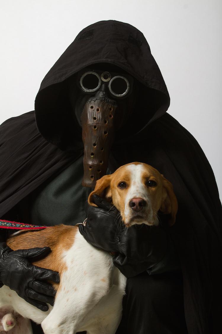 Garindan with Beagle