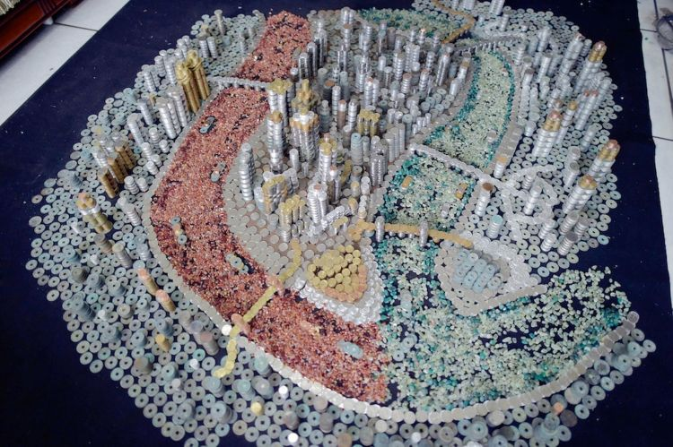 50,000 Coins City Model