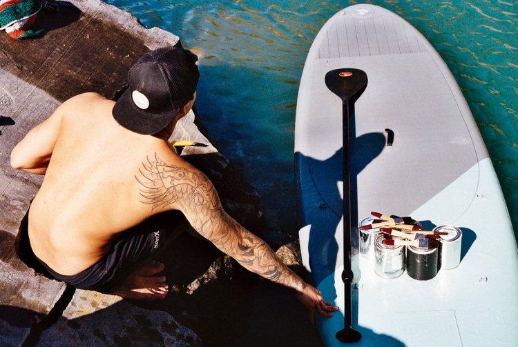 Hula Surfboard