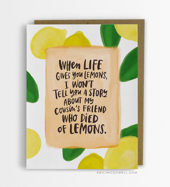 Empathy Cards, A Wonderful Line of Plain-Spoken Notes That Help to Truly Connect With Someone Who Is Ill