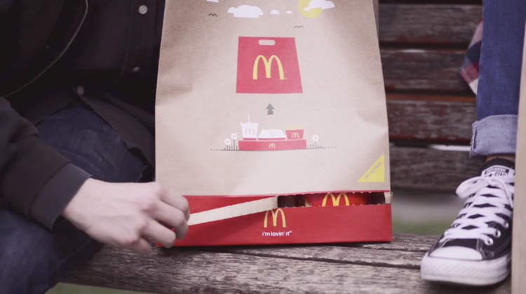 McDonald's BagTray 1