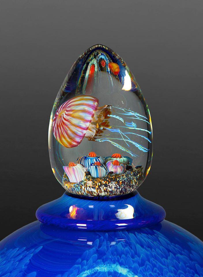 Nautilus Lidded Vessels
