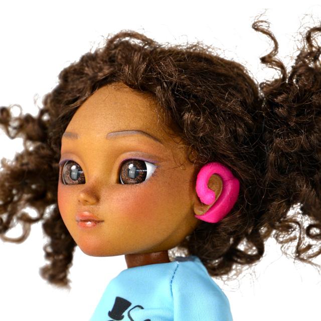Hetty doll closeup