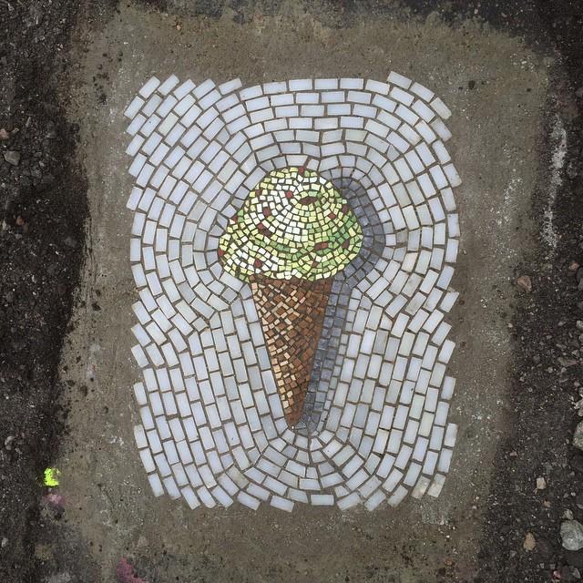 Single Scoop Ice Cream Cone