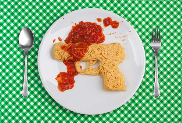 Spaghetti Gun